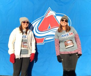 , Wambolt & Associates Team Participates the Colorado Avalanche Avs 5K
