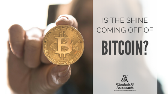 , Is the shine coming off of bitcoin?
