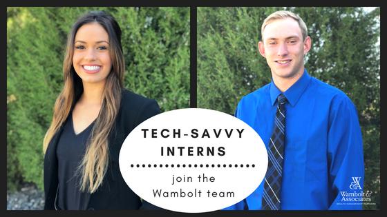 , Tech-savvy interns join the Wambolt team