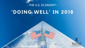 "U.S. economy ""doing well"" in June 2018"
