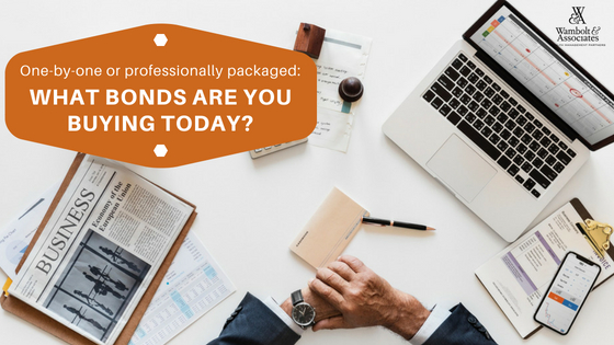 , One-by-one or professionally packaged: What bonds are you buying today?
