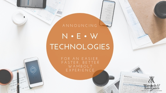 Announcing new technologies for an easier, faster, better Wambolt experience