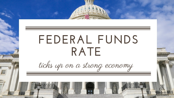 , Federal funds rate ticks up on a strong economy