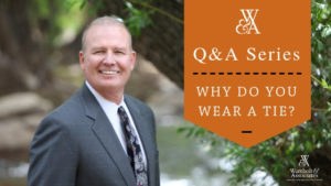 , Q&A with Greg Wambolt: Why do you wear a tie?