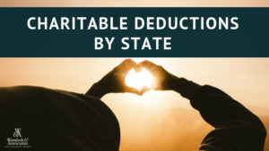, Charitable Deductions by State