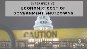 , In perspective: Economic cost of government shutdowns