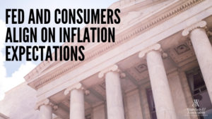 , Fed and consumers align on inflation expectations